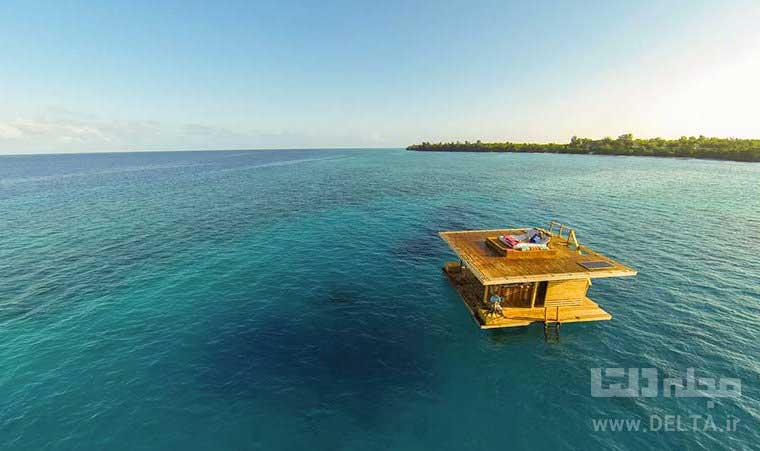 هتل شناور تانزانیا The Manta Resort