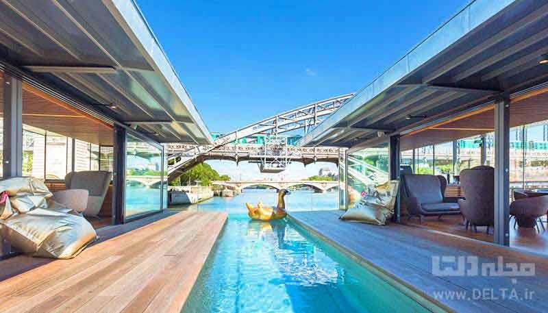 هتل شناور فرانسه Hotel Off Paris Seine
