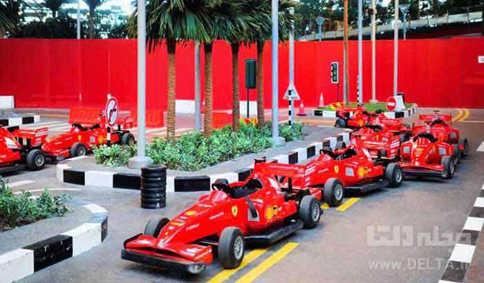 فراری پارک دبی