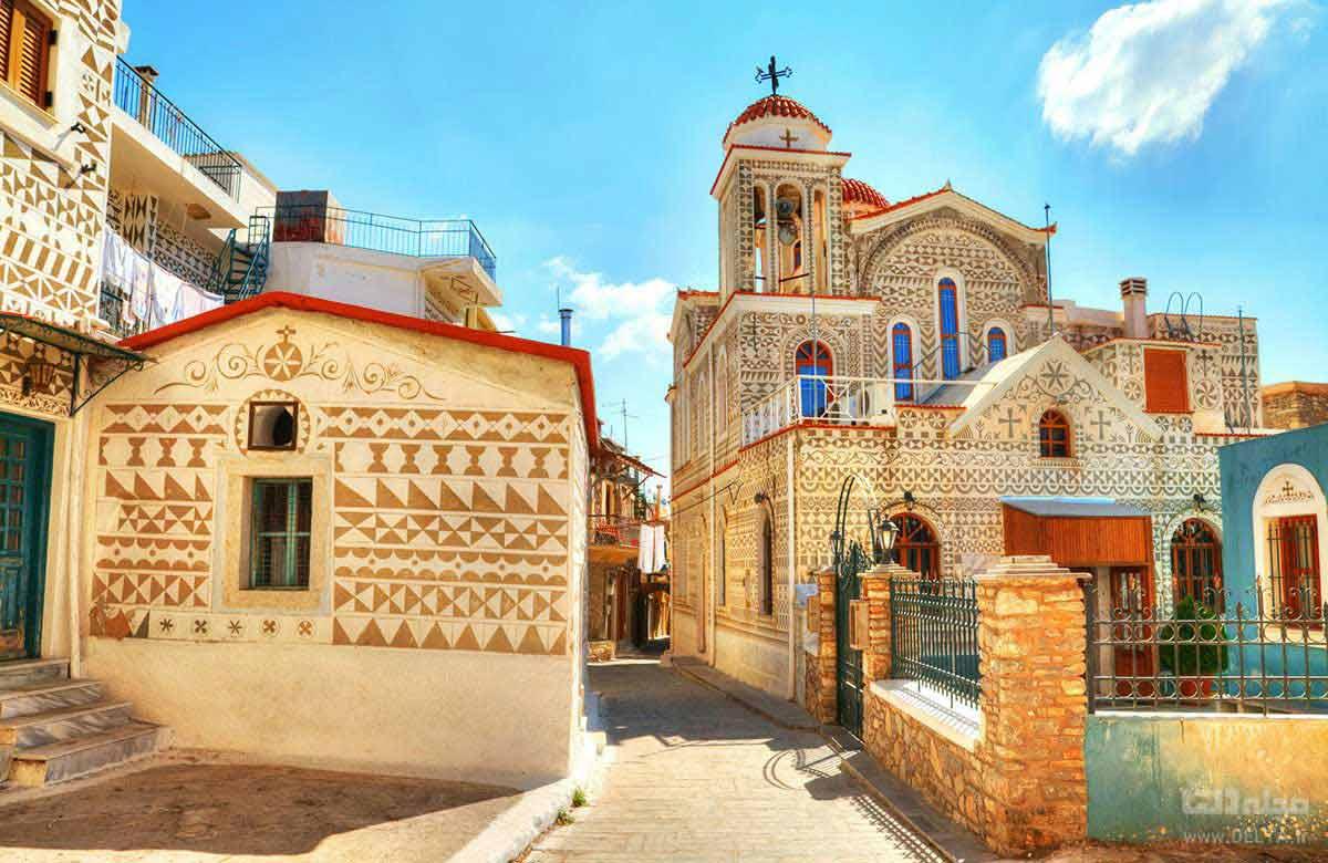 جزیره شیوش یونان Chios