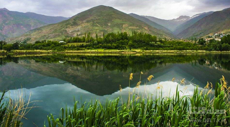 دریاچه الموت