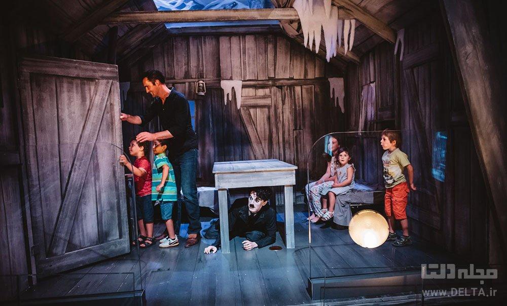 vevey chaplin world دنیای چاپلین در سوئیس