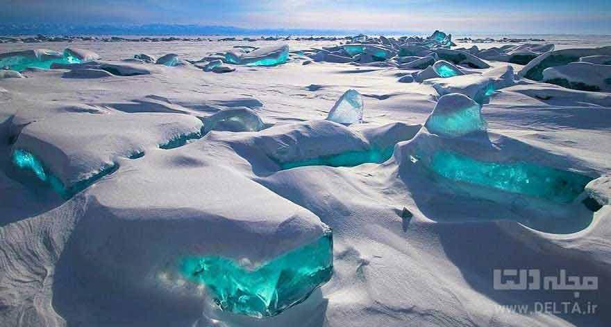 بایکال زلال ترین دریاچه دنیا (Northern Lake Baikal