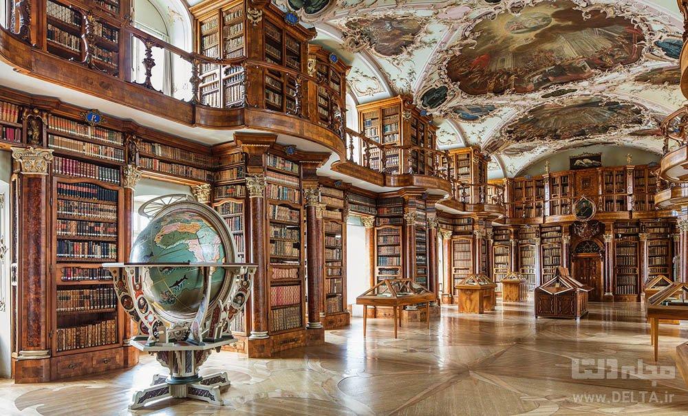 کتابخانه سنت گالن سوئیس st gallen library