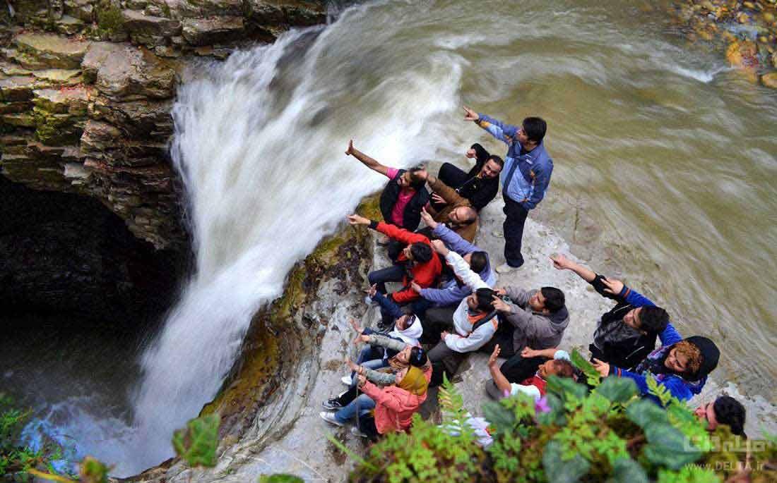 آبشار صخره ای ویسادار