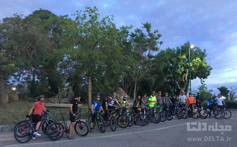 مسیر عبور دوچرخه