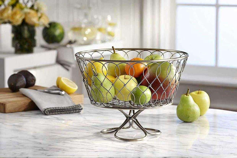 تزیین میز ناهار خوری با میوه