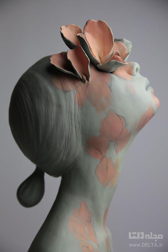 مجسمه صورتک