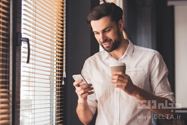 کنجکاوی در تلفن همراه