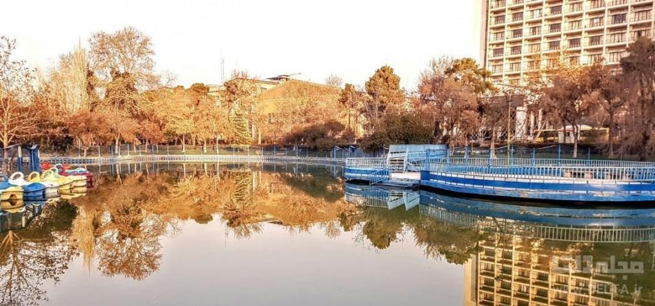 دریاچه مصنوعی پارک شهر