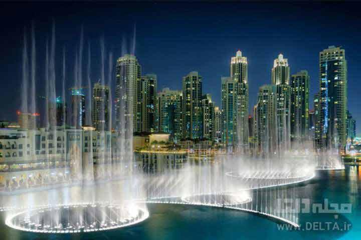 فواره های موزیکال دبی