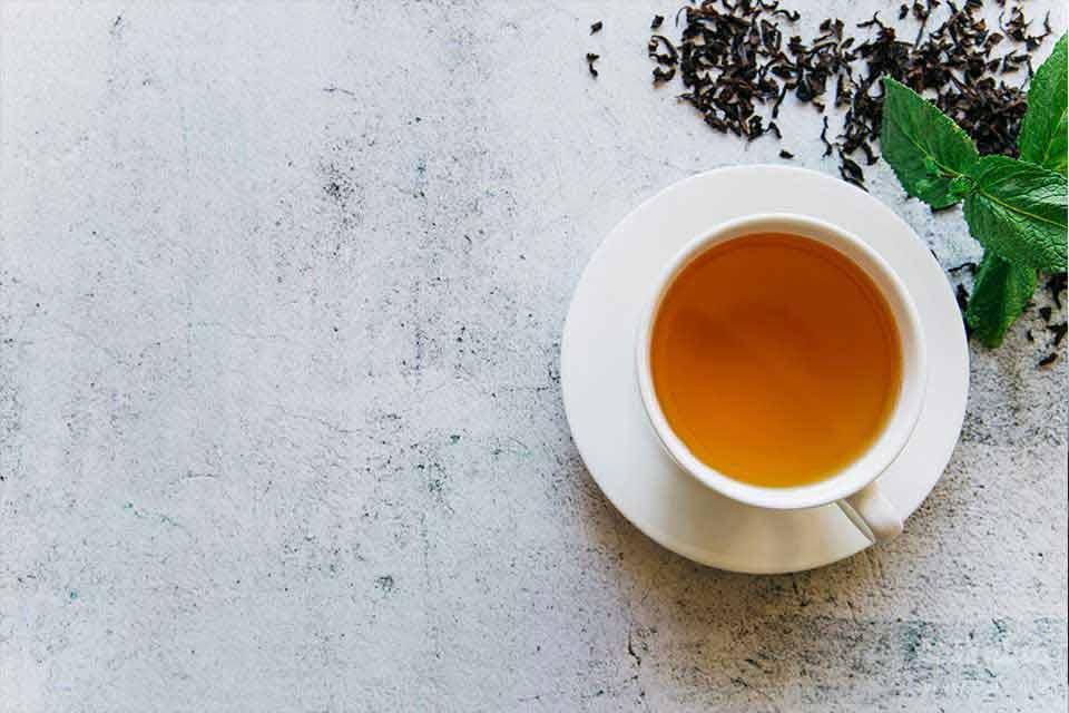 چایی در صبحانه