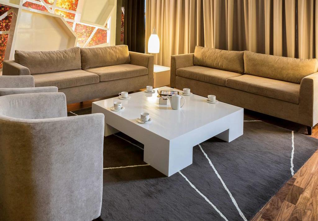 اتاق های هتل نووتل