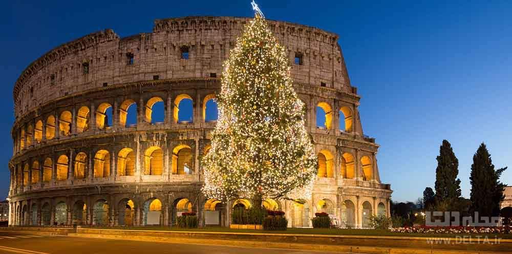 کولوسئوم رم در ایتالیا