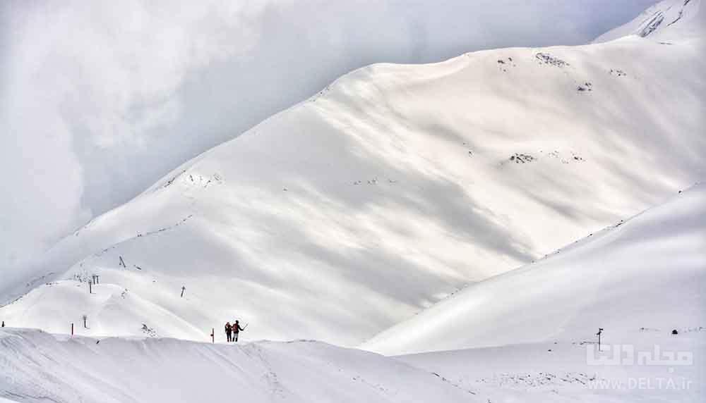 چگونه پیست اسکی به وجود آمد