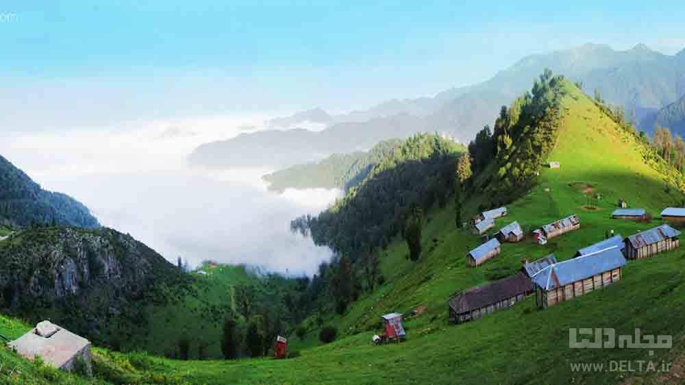 روستای مازیچال دیدنی مازندران
