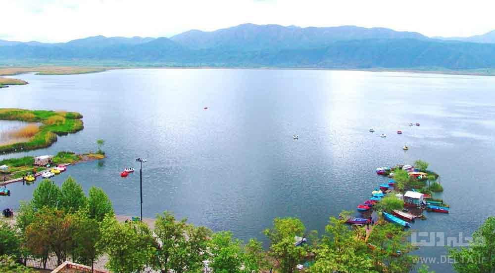 دریاچه زریوار دیدنی کردستان