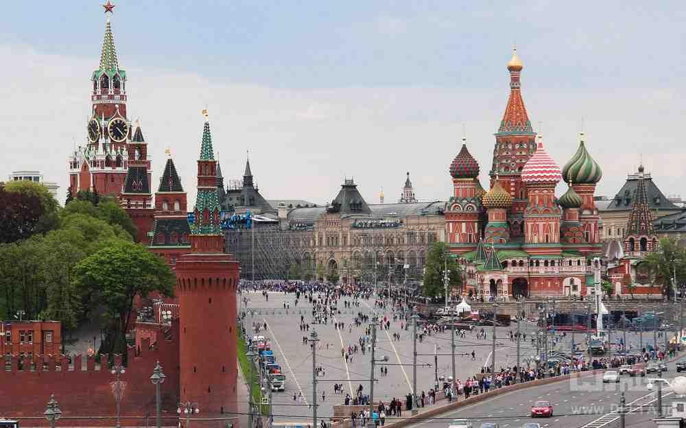 نمایی از میدان سرخ مسکو
