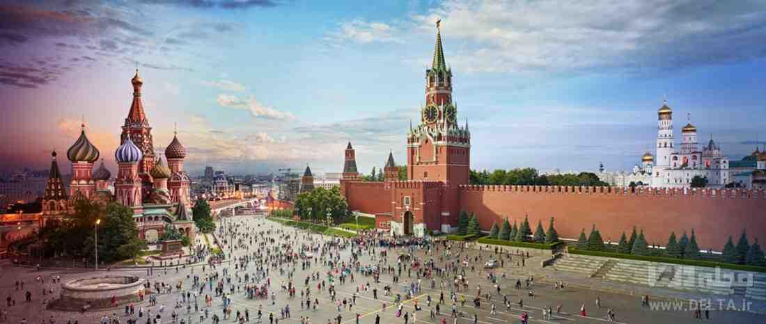میدان اصلی پایتخت روسیه