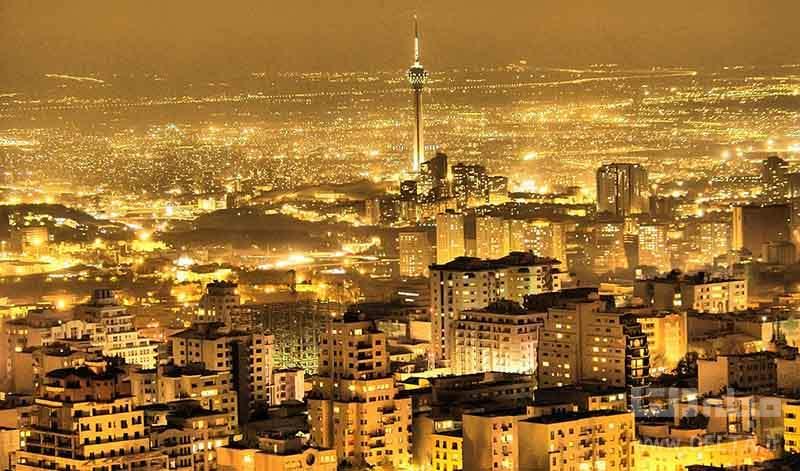 روشنی های شهر تهران