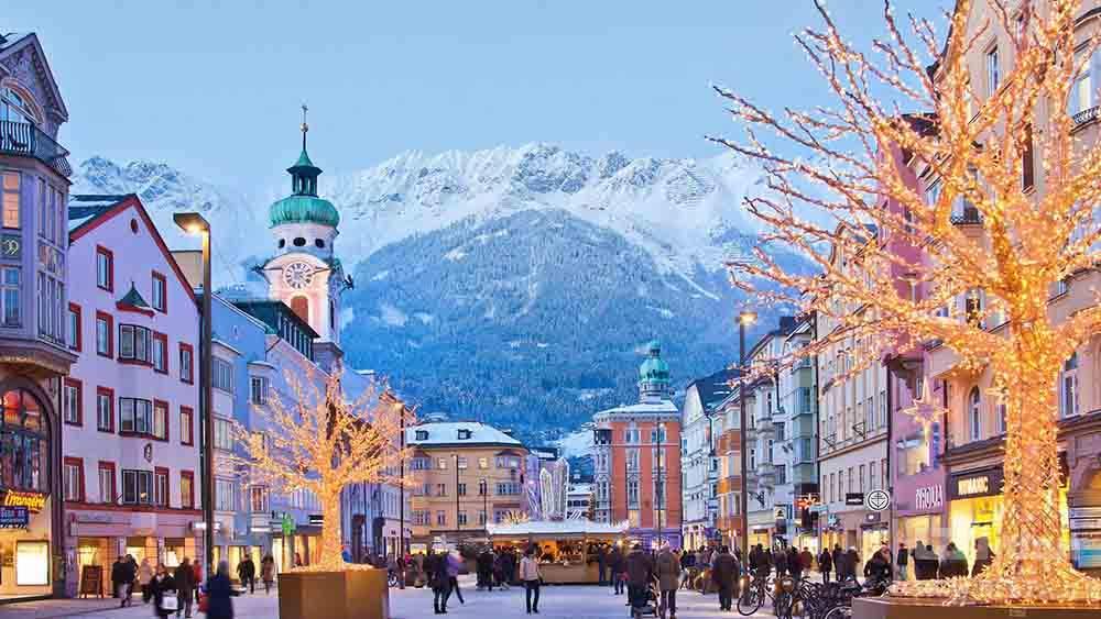 شهر اینسبروک کشور اتریش