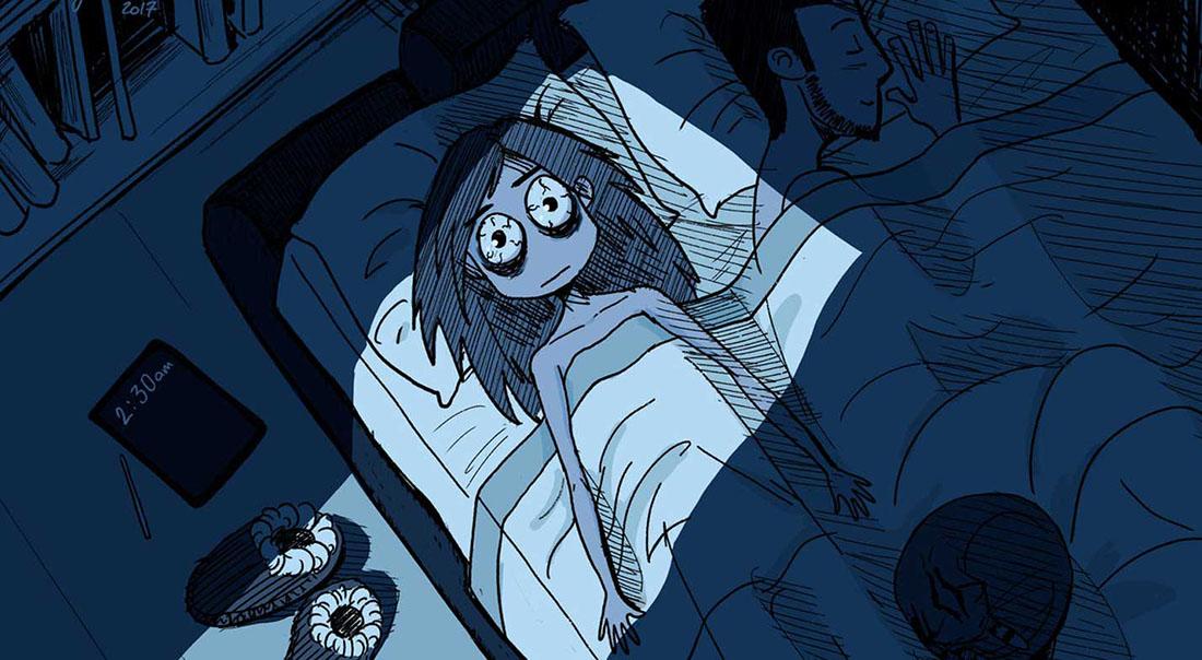 بی خوابی در سفر