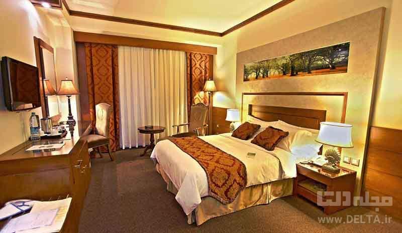 اتاق های هتل پارمیدا