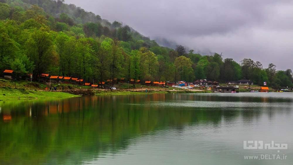دریاچه آویدر از جاهای دیدنی مازندران