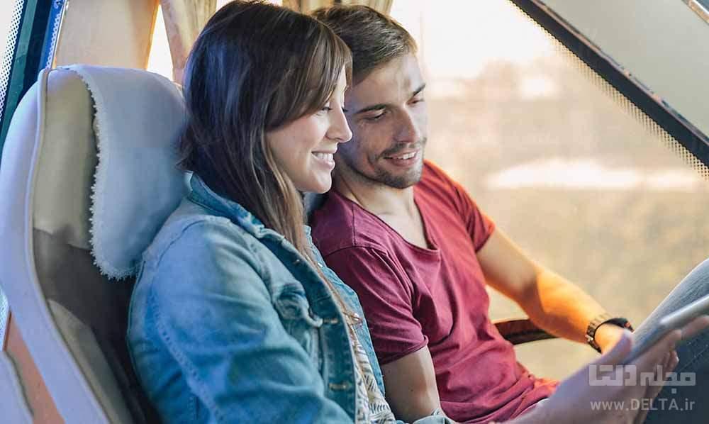 ارتباط با دیگران در سفر