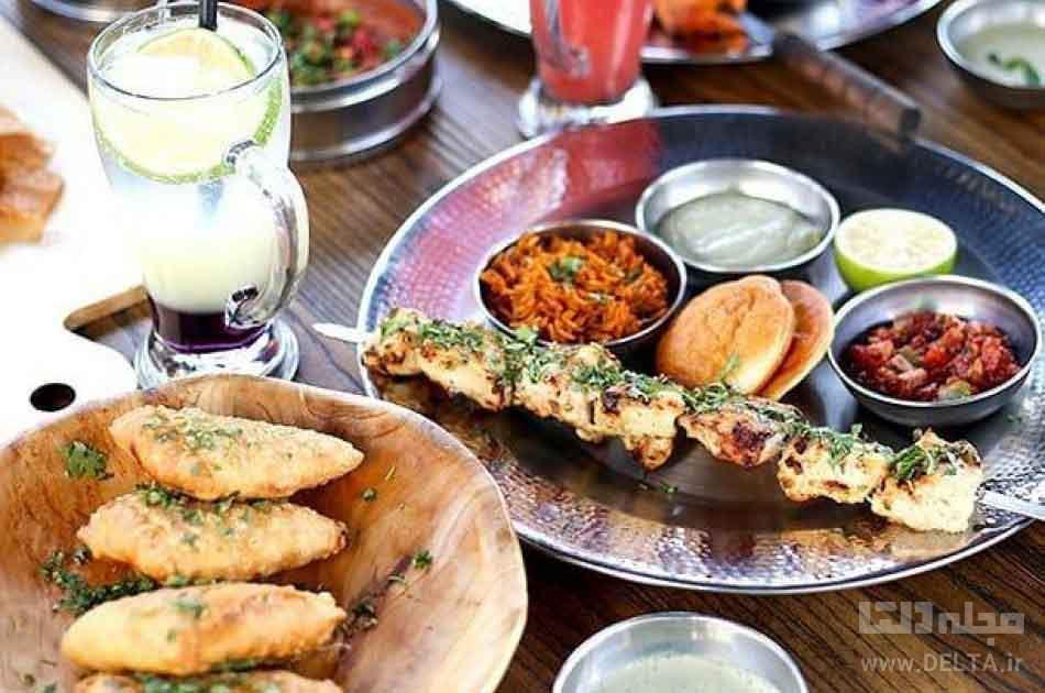 رستوران هندی روتی بام