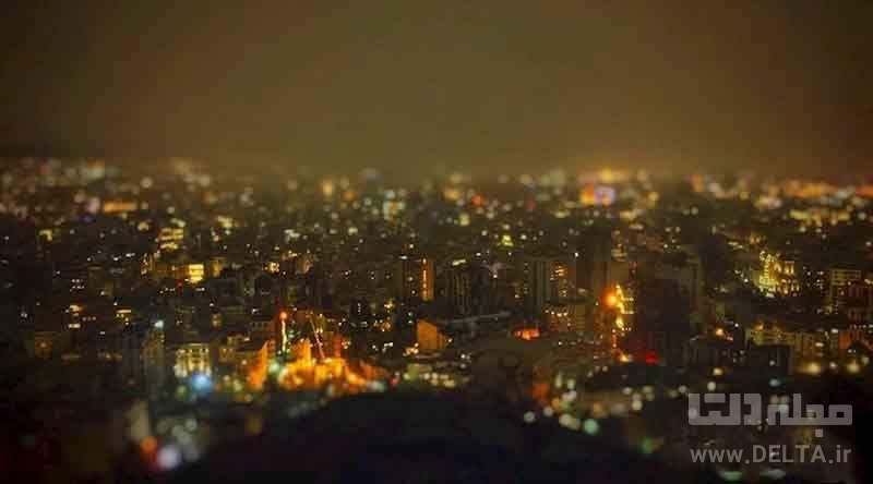اوج شهر تهران