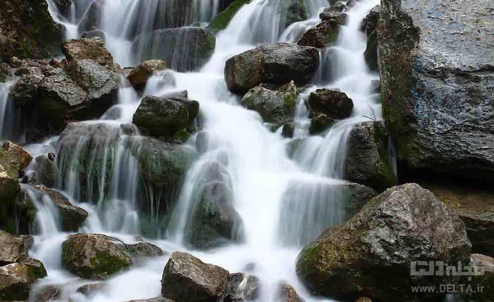آبشار آب پری دیدنی مازندران