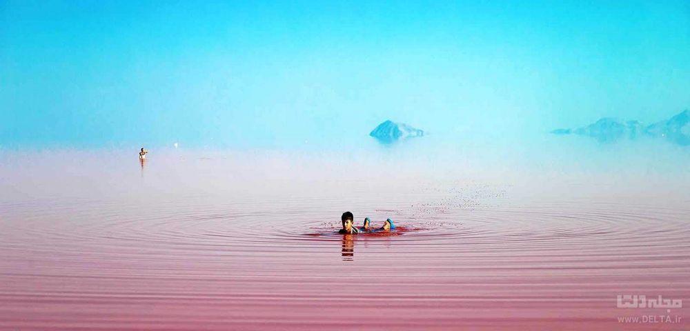دریاچه صورتی چابهار