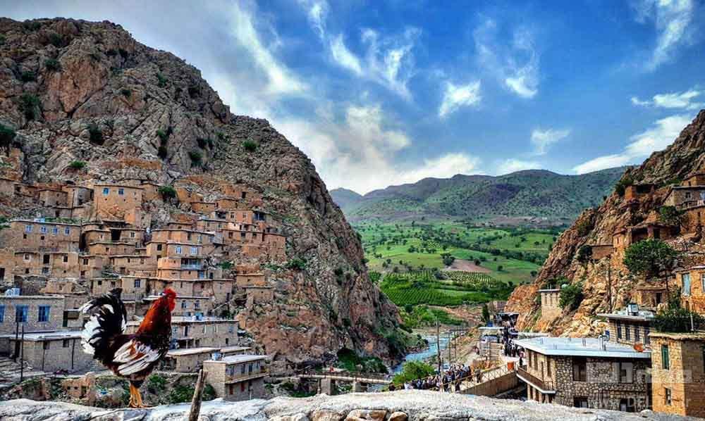 روستای پالنگان دی دیدنی کردستان