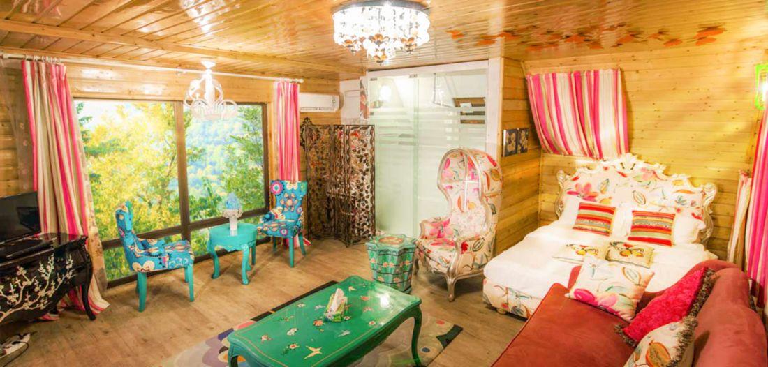 اقامت در هتل بام سبز تله کابین