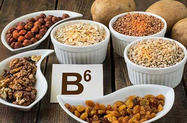 منابع غذايي ويتامين ب6