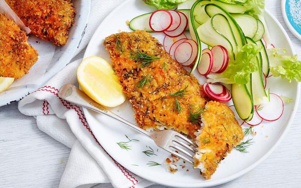شنیسل ماهی