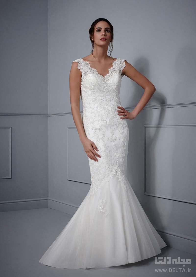 لباس عروس شیپوری