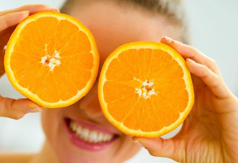 ماسك صورت پرتقال