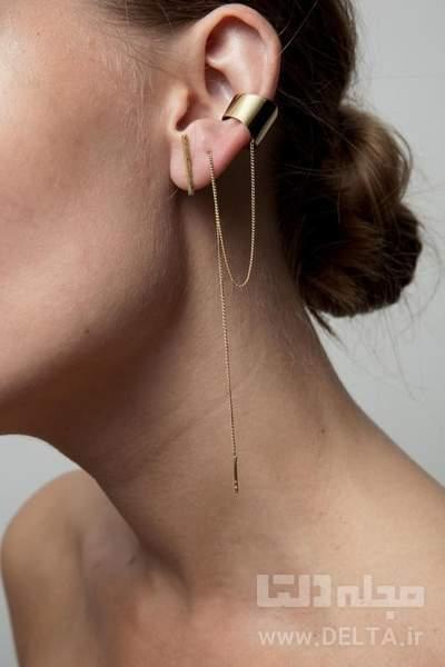 گوشواره بخیه ای