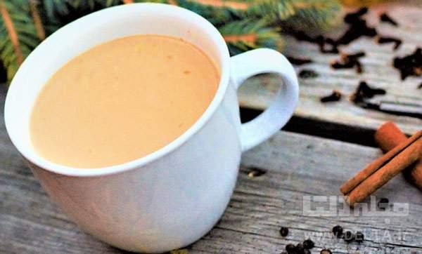 شیر و چای