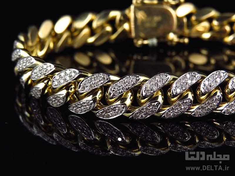 ترکیب طلا و الماس