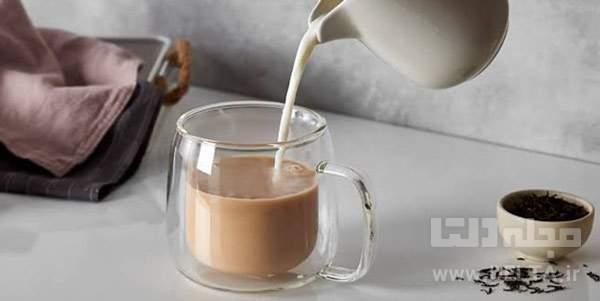 مضرات شیر چای
