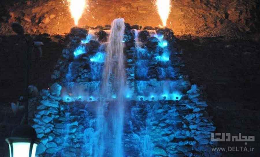 آبشار مصنوعی بیلقان