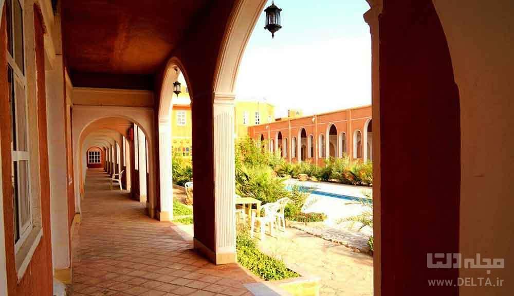 بزرگترین هتل کویری ایران