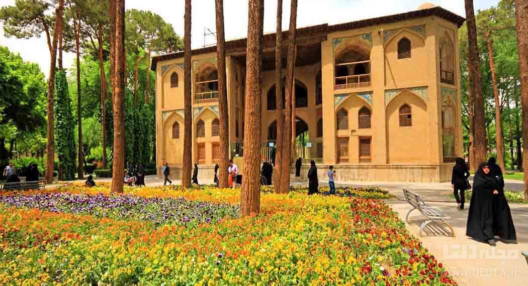 باغ هشت بهشت اصفهان
