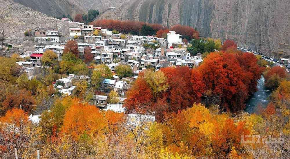 طبیعت روستاهای کرج