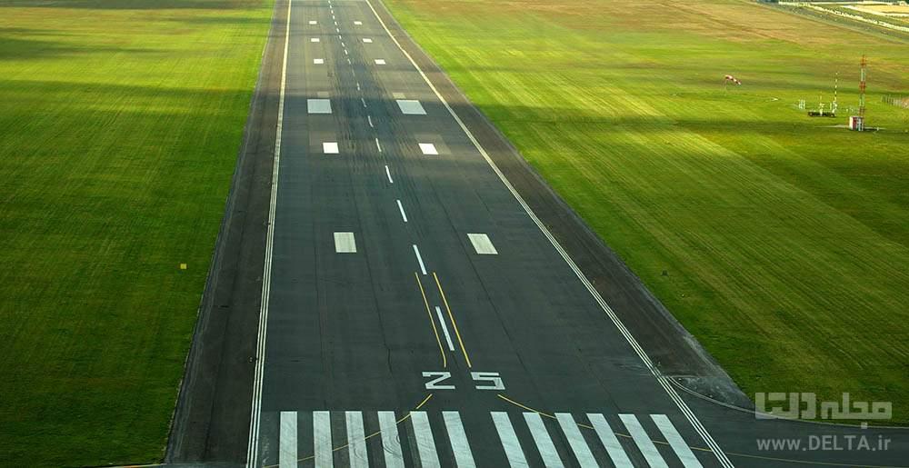 باند فرودگاه سرسبز رامسر