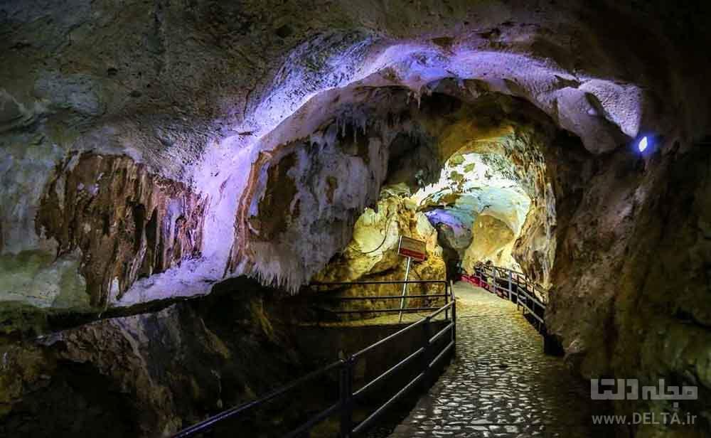 تالار عروس غار قوری قلعه