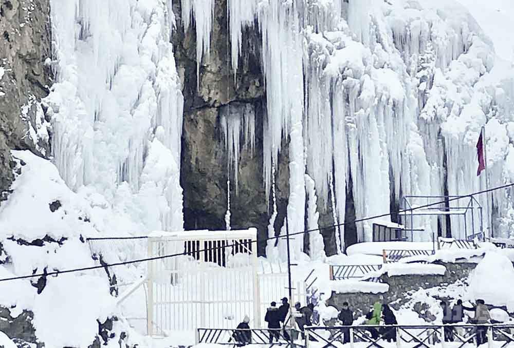 دره یخی هملون میگون